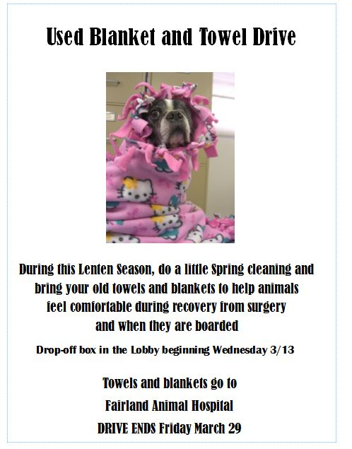 Blanket and Towel Drive.JPG